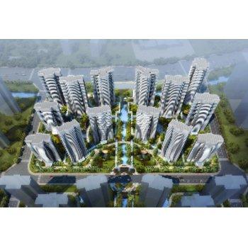 汇龙半岛首府规划图