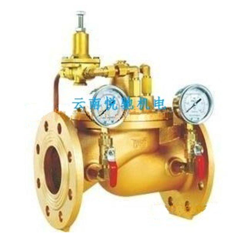 铜减压阀工作原理分享展示图片
