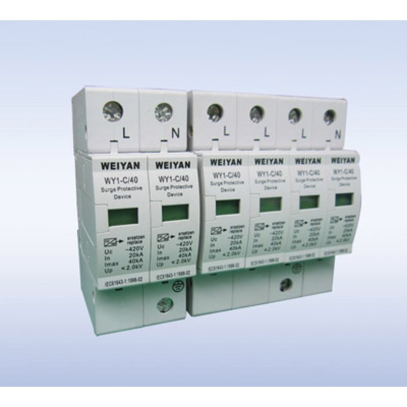 电源浪涌保护器wy1-c/40/385