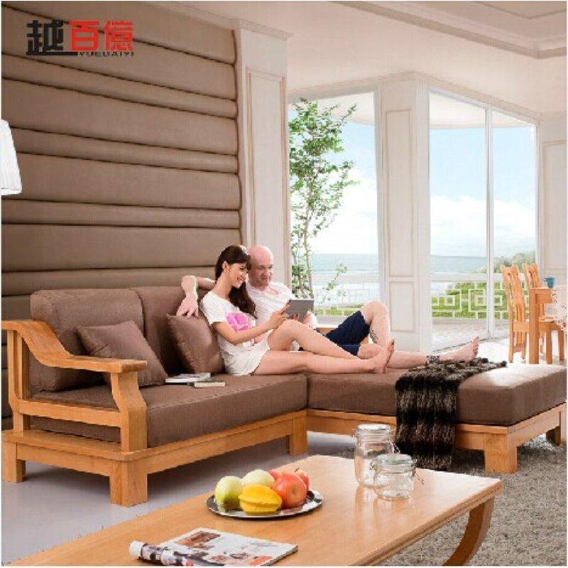 榉木纯实木沙发