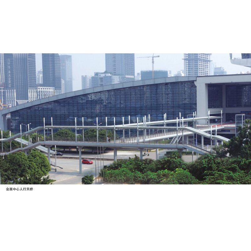 深圳会展中心天桥钢结构工程案例