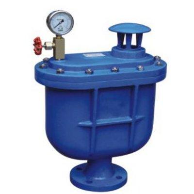 优点 复合式排气阀使用性能可靠,可以将管道中的大量空气,系统运行中图片
