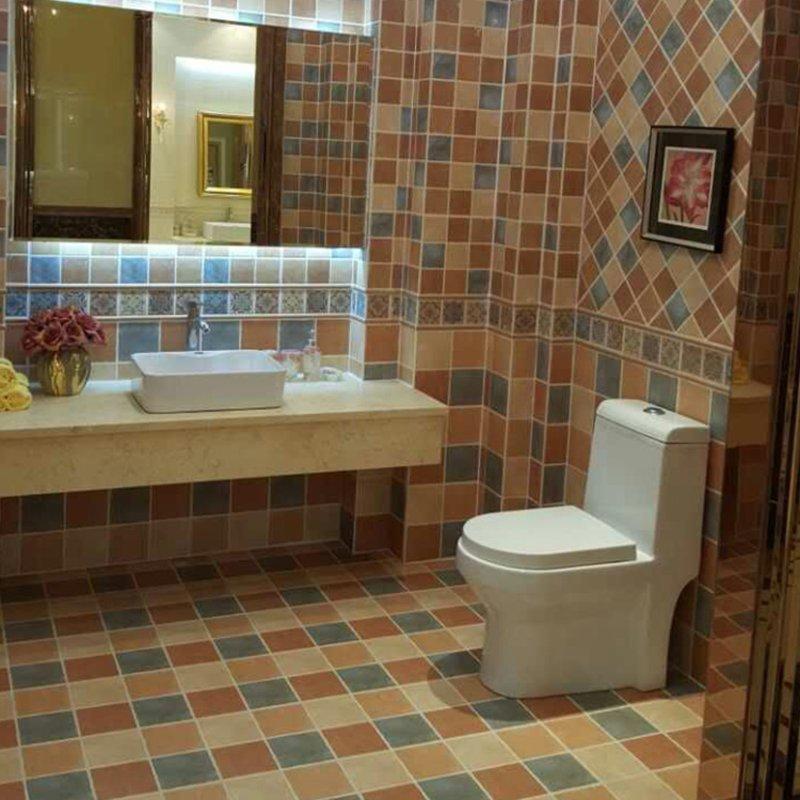 汤普森陶瓷欧式风格仿古厨卫地砖墙砖