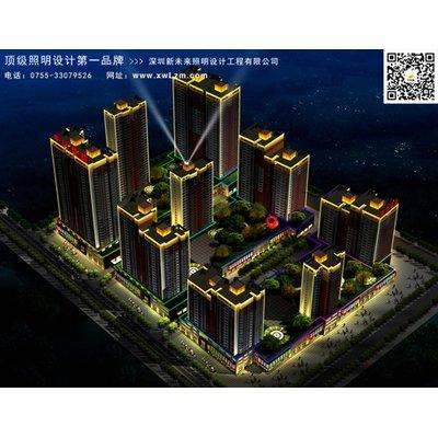 河南洛阳凤翔温泉度假村照明规划设计